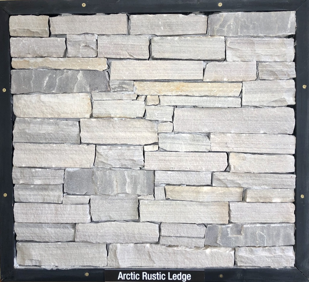 Special Arctic Rustic Ledge Exterior Stone Sample by Lamb Stone