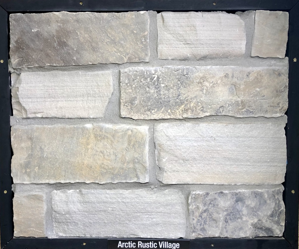 Arctic Rustic Village Exterior Stone Sample by Lamb Stone