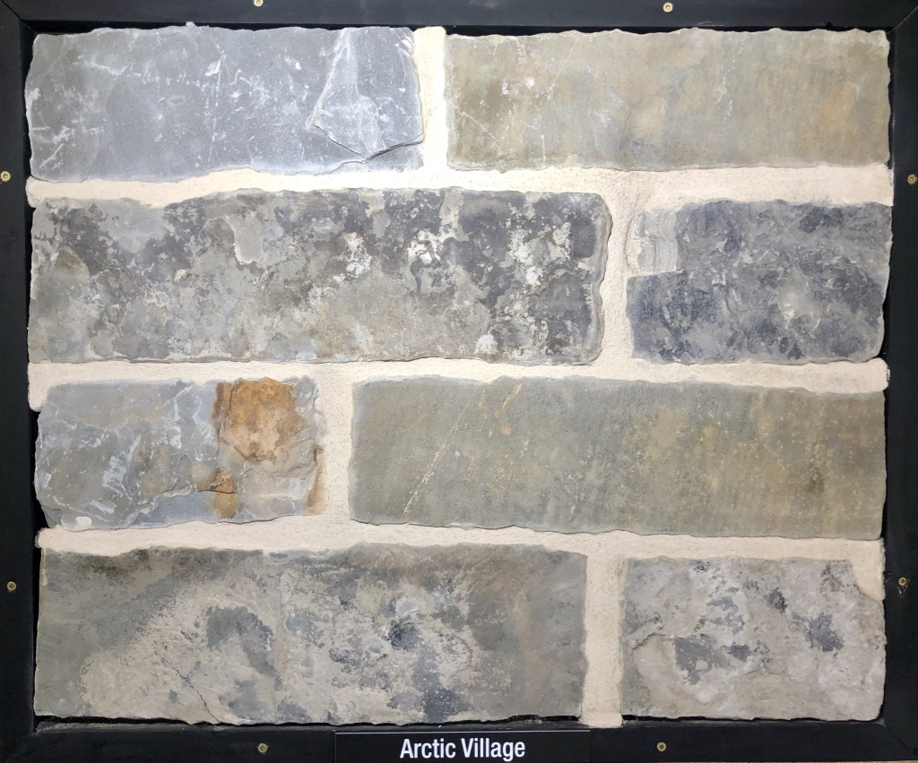 Arctic Village Exterior Stone Sample by Lamb Stone