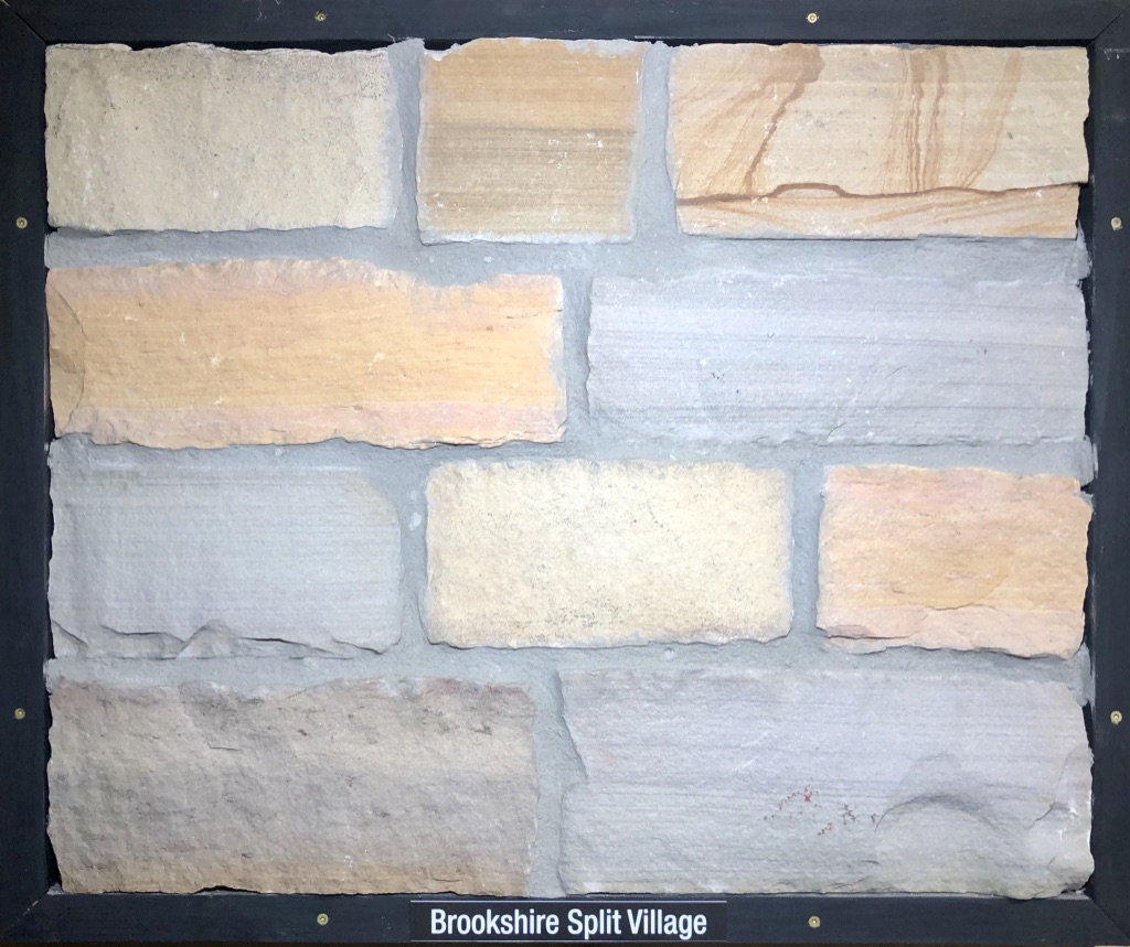 Brookshire Split Village Exterior Stone Sample by Lamb Stone