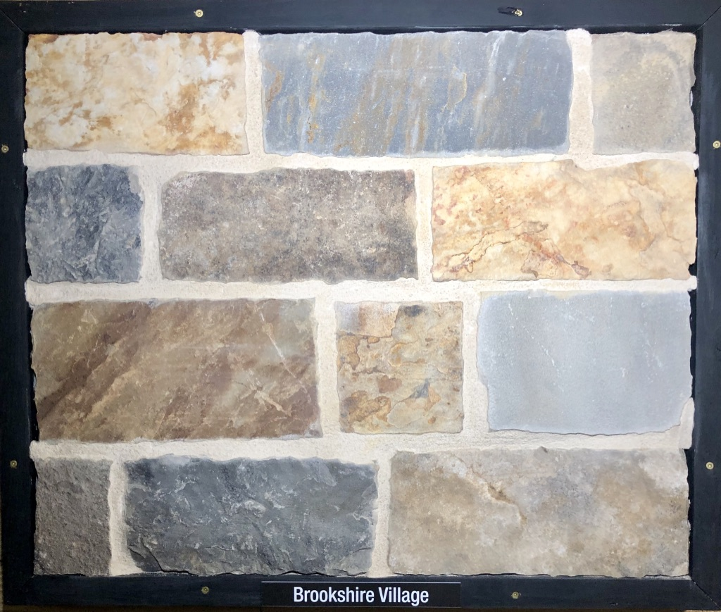 Brookshire Village Exterior Stone Sample by Lamb Stone