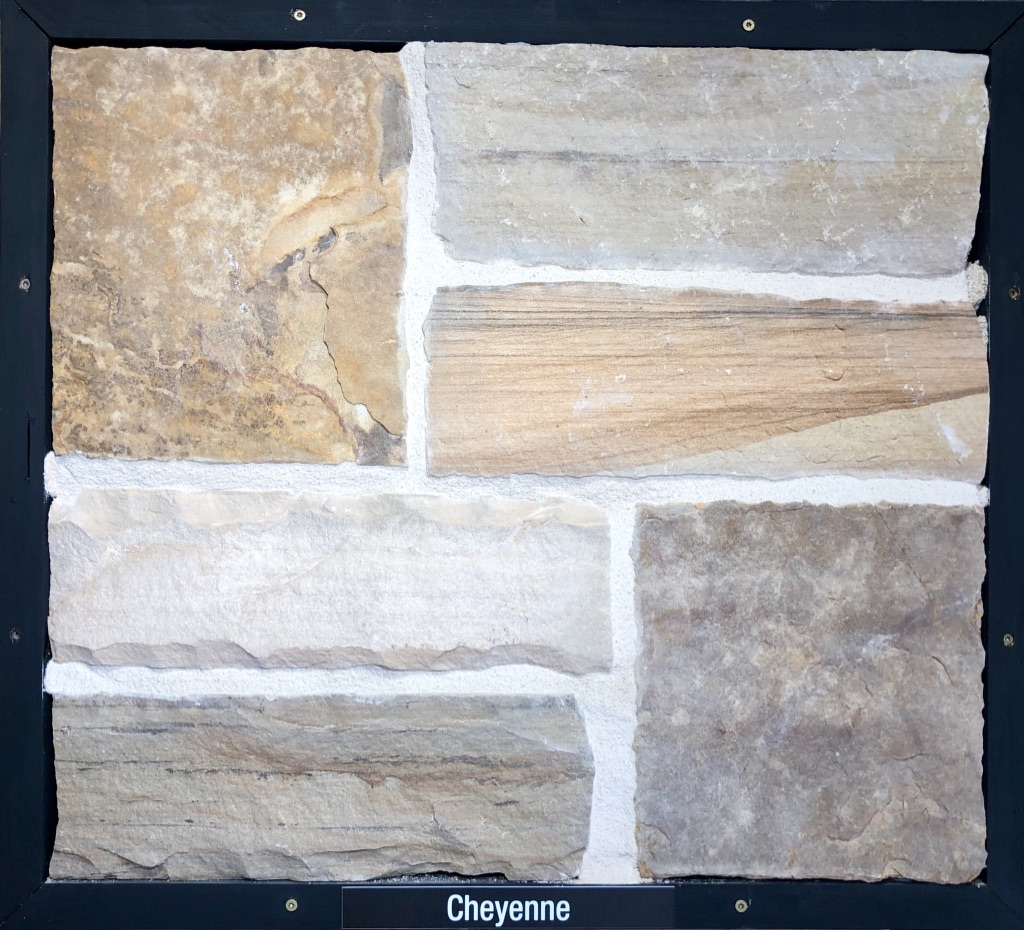 Special Cheyenne Exterior Stone Sample by Lamb Stone