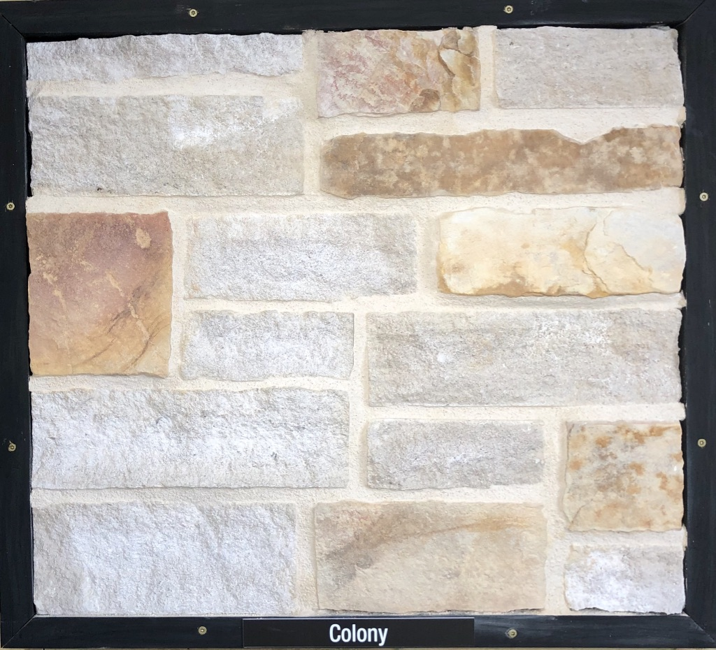 Special Colony Exterior Stone Sample by Lamb Stone