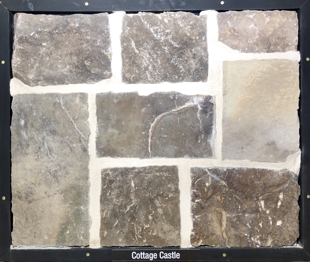 Cottage Castle Exterior Stone Sample by Lamb Stone