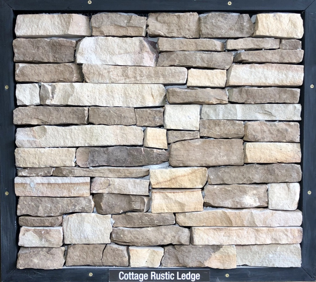 Special Cottage Rustic Ledge Exterior Stone Sample by Lamb Stone