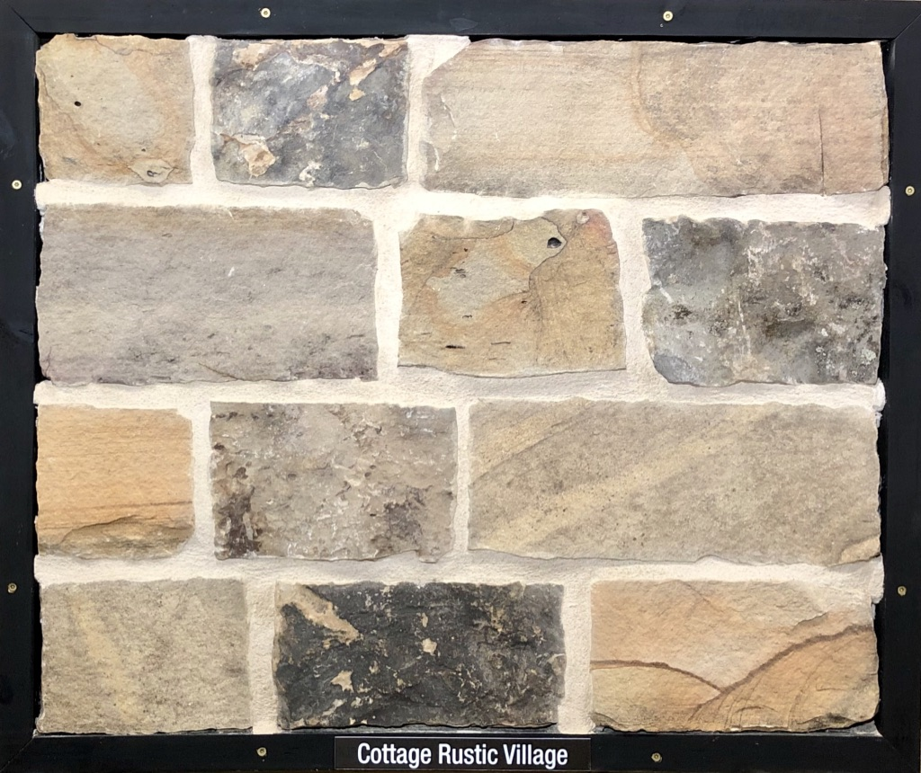 Cottage Rustic Village Exterior Stone Sample by Lamb Stone