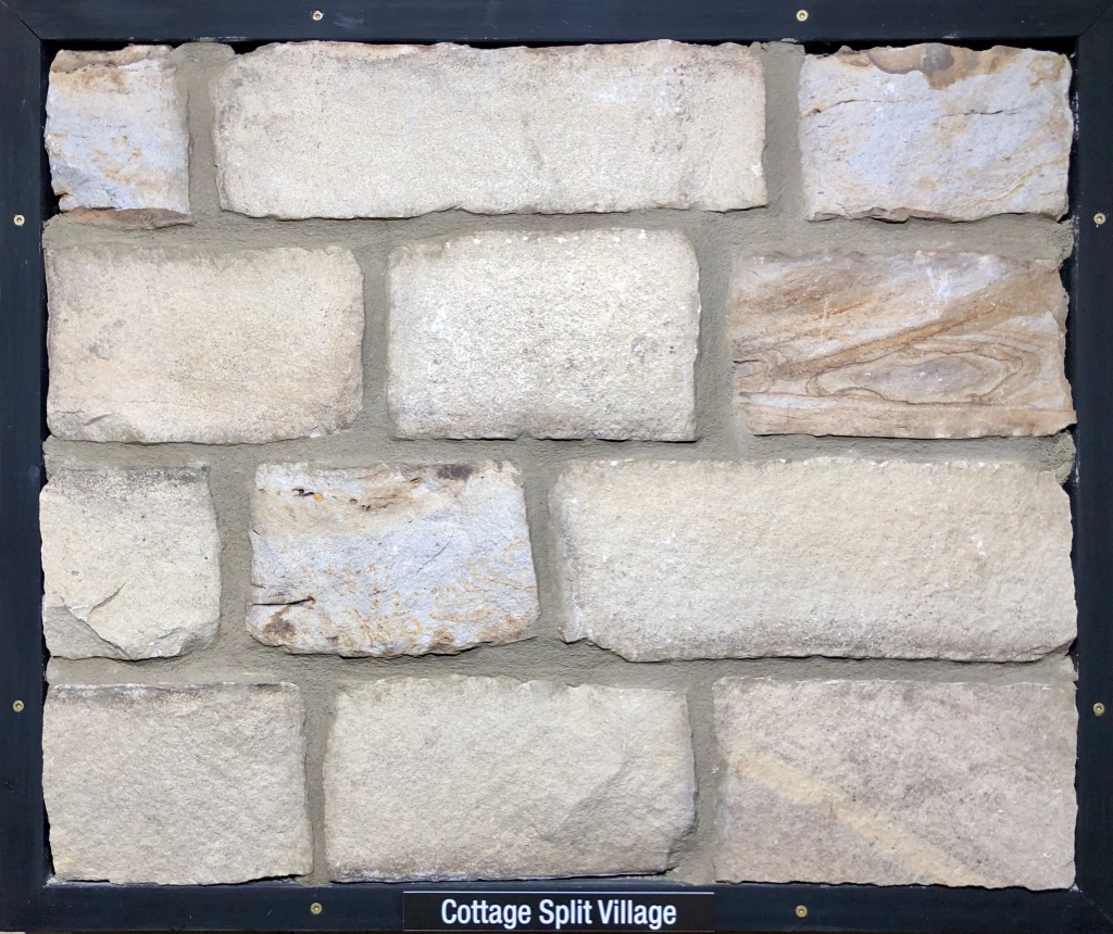 Cottage Split Village Exterior Stone Sample by Lamb Stone
