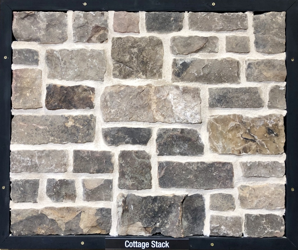 Cottage Stack Exterior Stone Sample by Lamb Stone