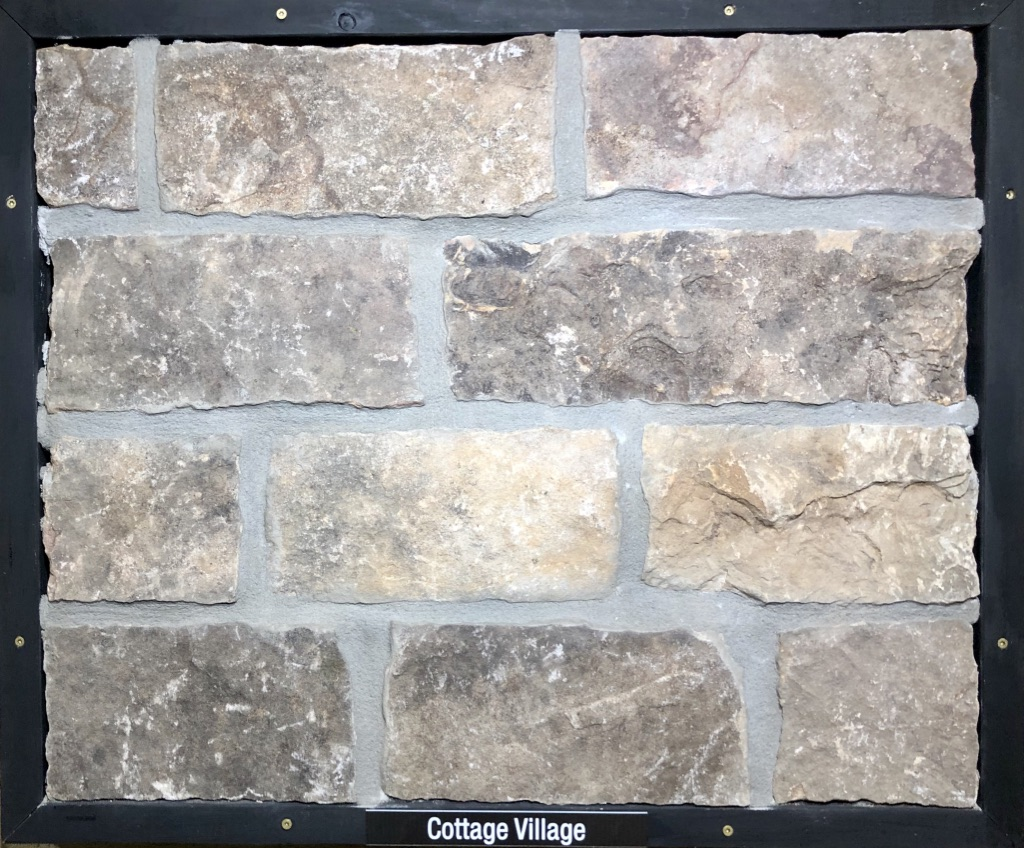 Cottage Village Exterior Stone Sample by Lamb Stone