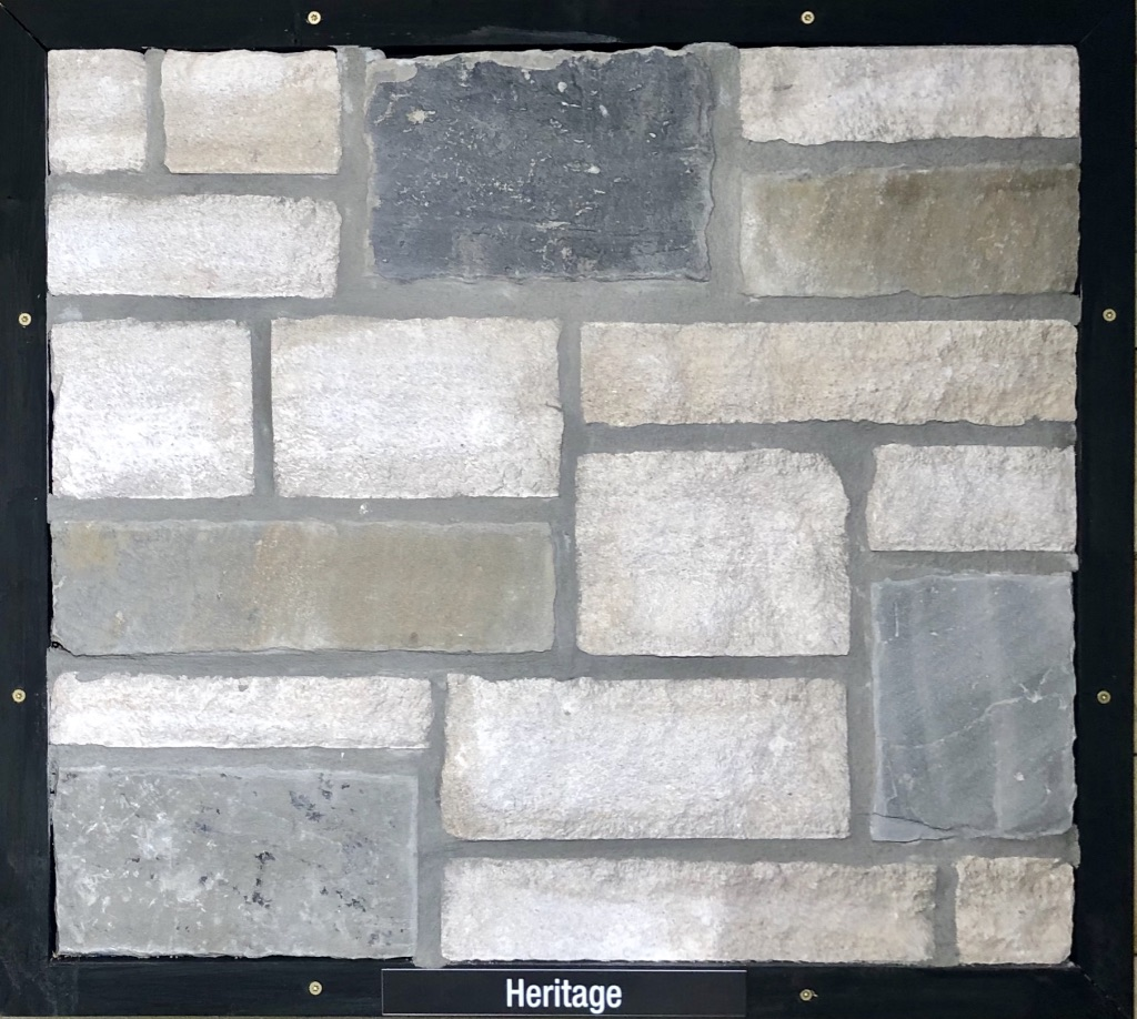 Special Heritage Exterior Stone Sample by Lamb Stone