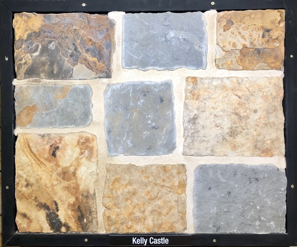 Kelly Castle Exterior Stone Sample by Lamb Stone