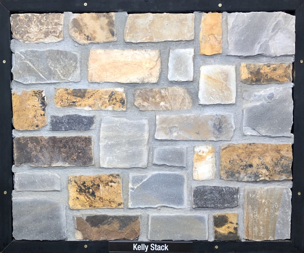 Kelly Stack Exterior Stone Sample by Lamb Stone