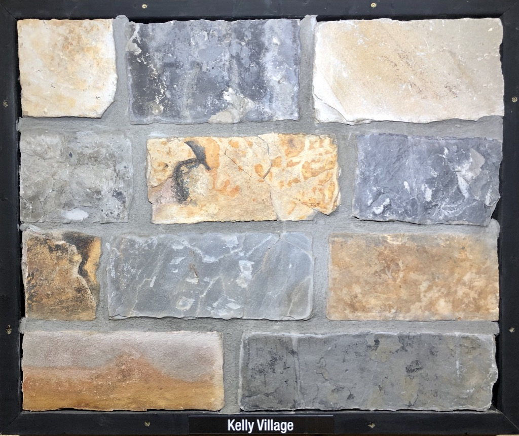 Kelly Village Exterior Stone Sample by Lamb Stone