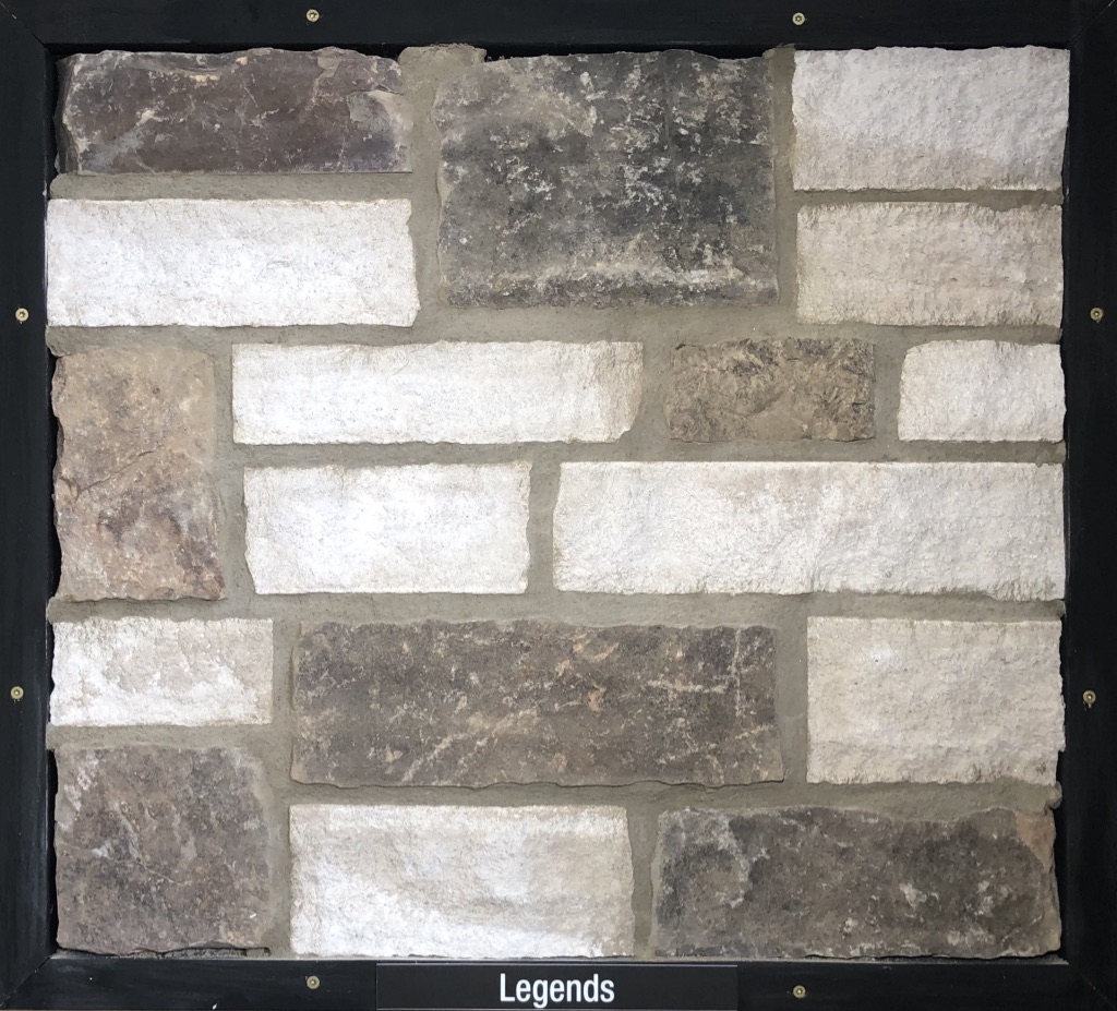 Special Legends Exterior Stone Sample by Lamb Stone