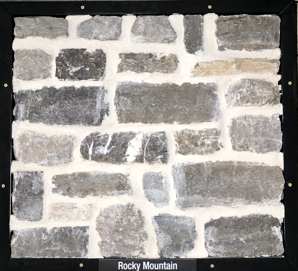Special Rocky Mountain Exterior Stone Sample by Lamb Stone