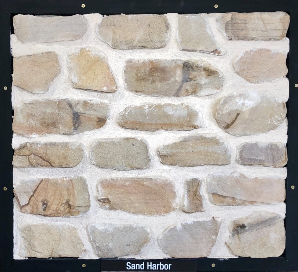 Special Sand Harbor Exterior Stone Sample by Lamb Stone