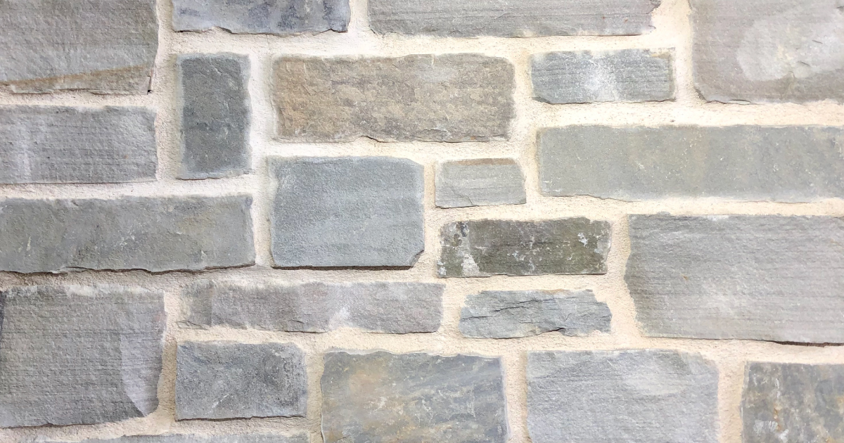 Arctic Rustic Stack Exterior Stone Pattern by Lamb Stone