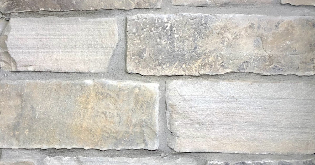 Arctic Rustic Village Exterior Stone Pattern by Lamb Stone