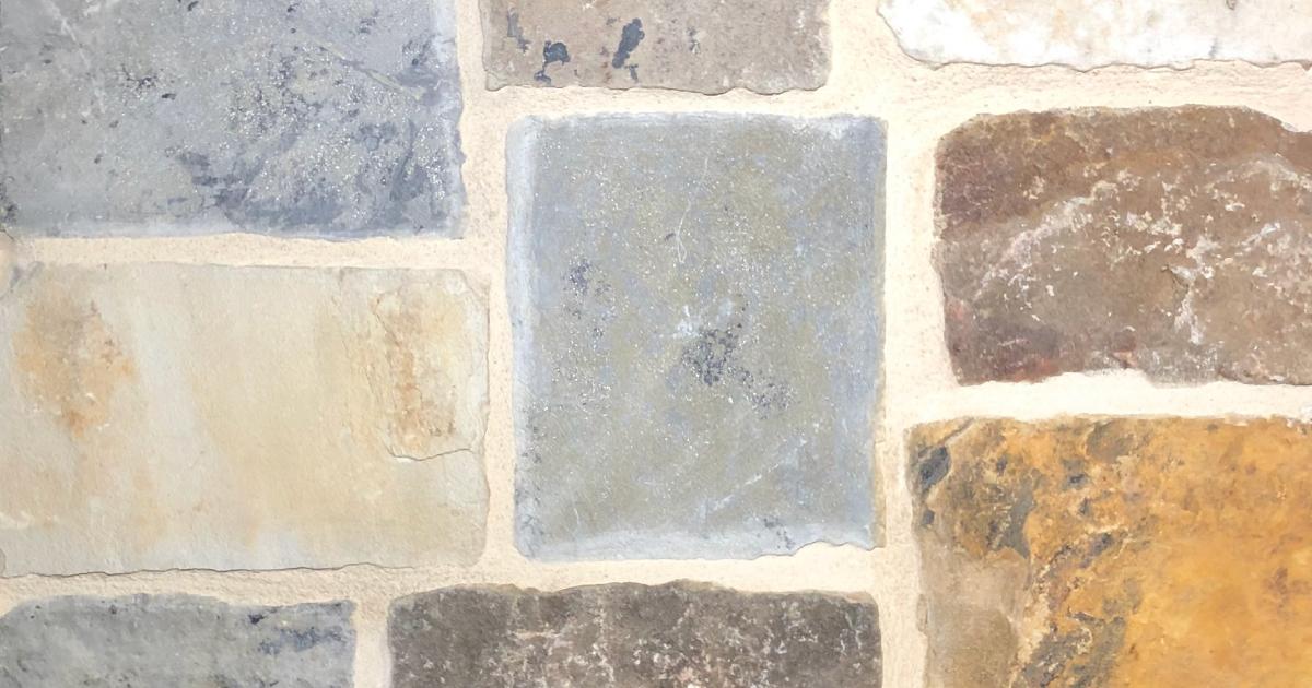 Brookshire Castle Exterior Stone Pattern by Lamb Stone