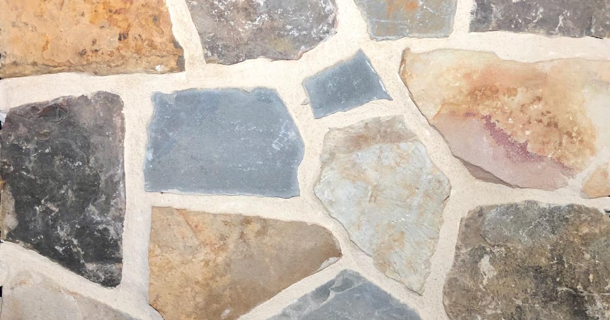 Brookshire Mosaic Exterior Stone Pattern by Lamb Stone