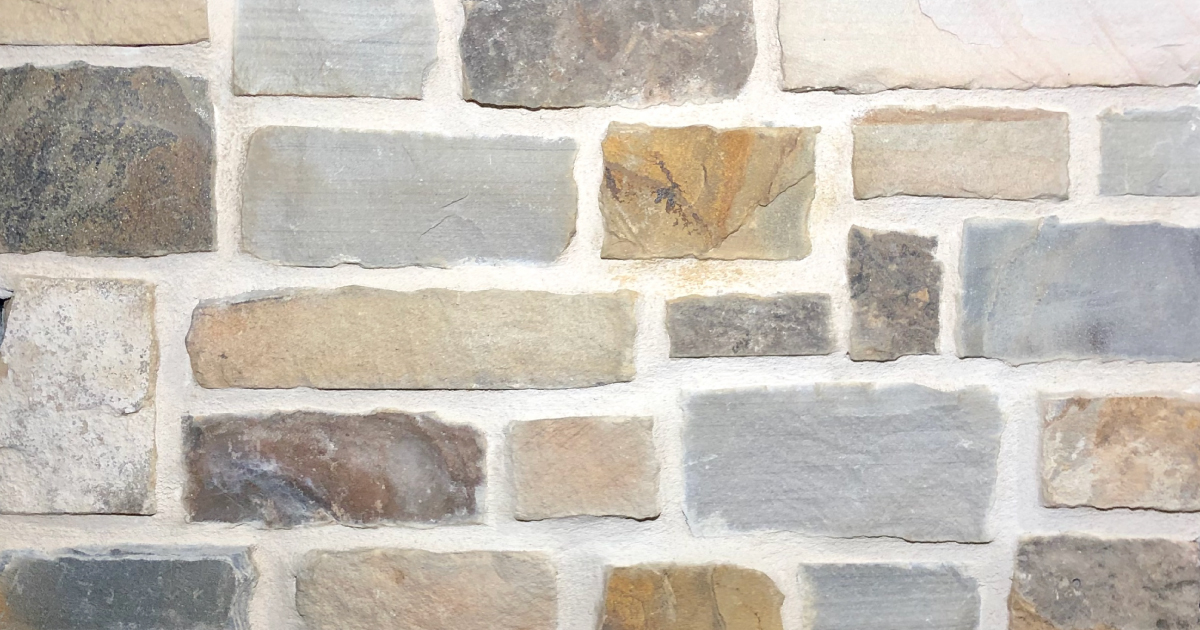 Brookshire Rustic Stack Exterior Stone Pattern by Lamb Stone