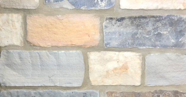 Brookshire Rustic Village Exterior Stone Pattern by Lamb Stone