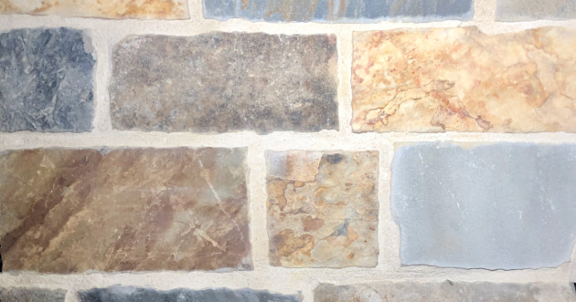 Brookshire Village Exterior Stone Pattern by Lamb Stone