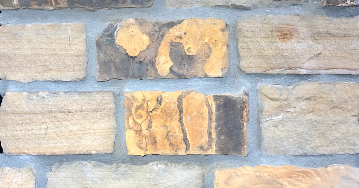 Desert Rustic Village Exterior Stone Pattern by Lamb Stone
