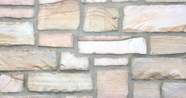 Desert Split Stack Exterior Stone Pattern by Lamb Stone
