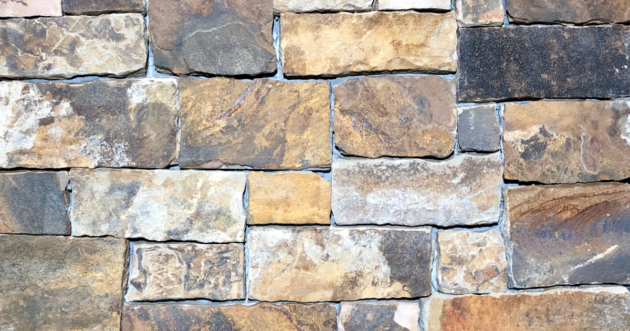 Desert Stack Exterior Stone Pattern by Lamb Stone