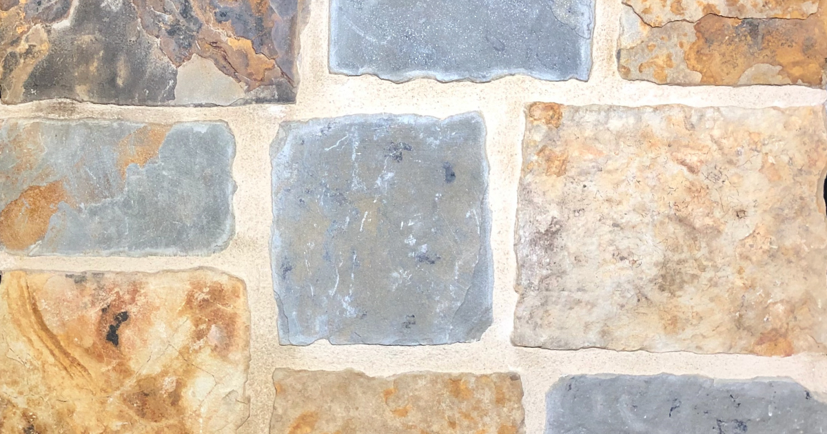 Kelly Castle Exterior Stone Pattern by Lamb Stone