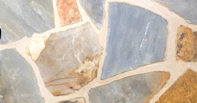 Kelly Mosaic Exterior Stone Pattern by Lamb Stone