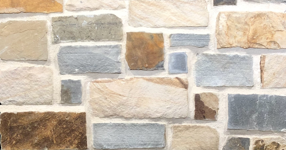 Kelly Rustic Stack Exterior Stone Pattern by Lamb Stone