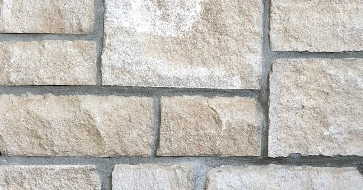 Special Chateau Exterior Stone Pattern by Lamb Stone