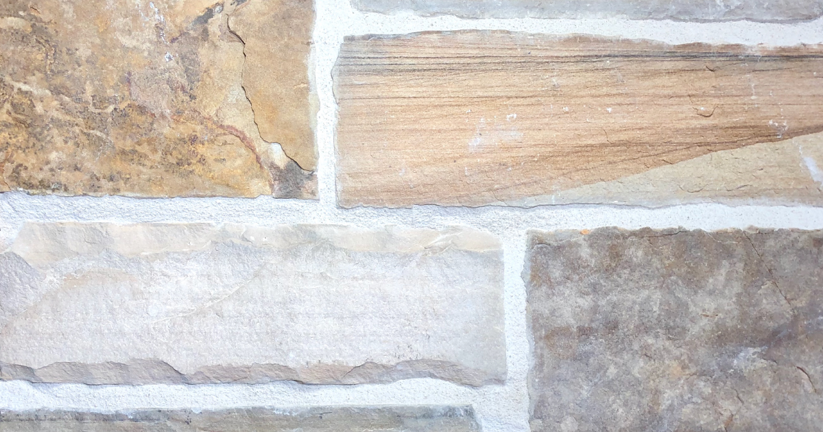Special Cheyenne Exterior Stone Pattern by Lamb Stone
