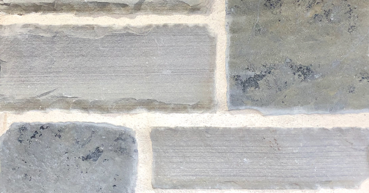 Special Choctaw Exterior Stone Pattern by Lamb Stone