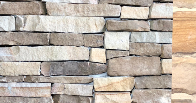 Special Cottage Rustic Ledge Exterior Stone Pattern by Lamb Stone