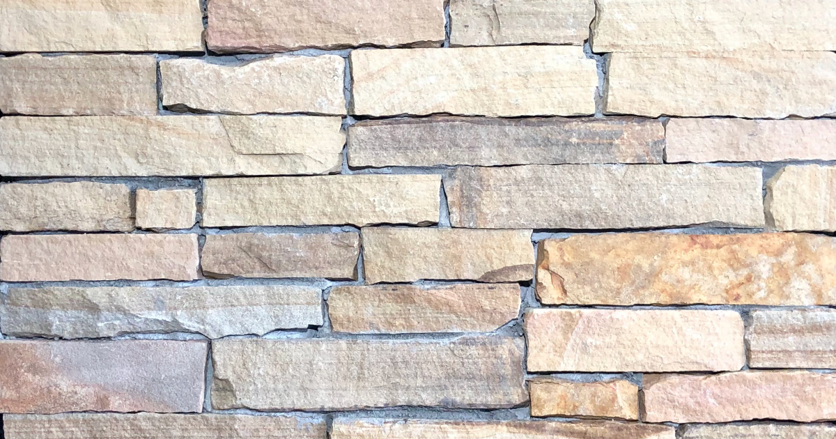 Special Desert Rustic Ledge Exterior Stone Pattern by Lamb Stone