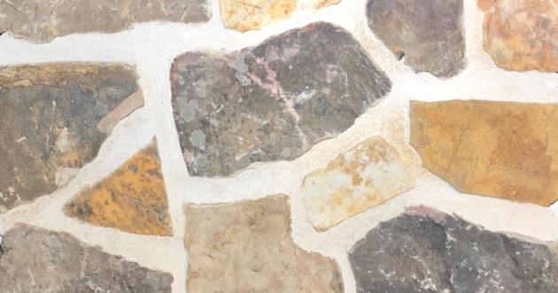 Sunrise Mosaic Exterior Stone Pattern by Lamb Stone