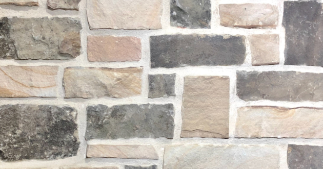 Sunrise Rustic Stack Exterior Stone Pattern by Lamb Stone