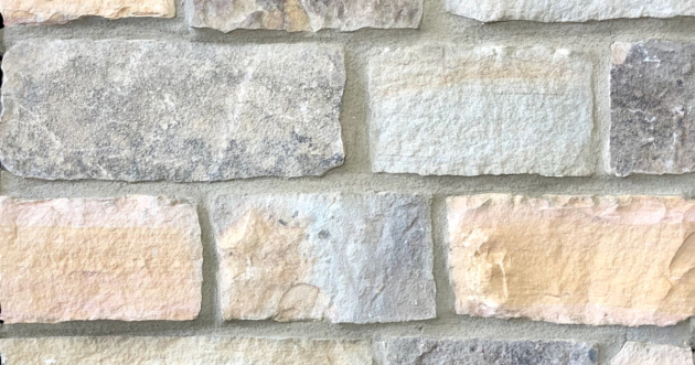 Sunrise Rustic Village Exterior Stone Pattern by Lamb Stone
