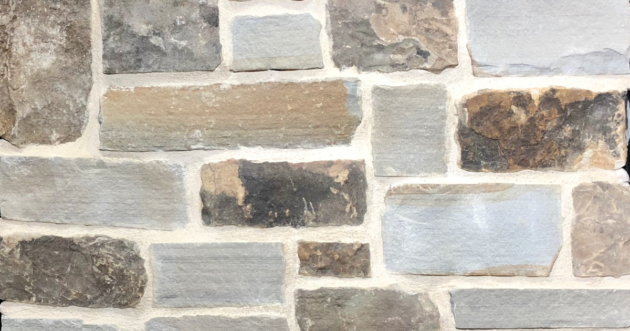 Sunset Rustic Stack Exterior Stone Pattern by Lamb Stone