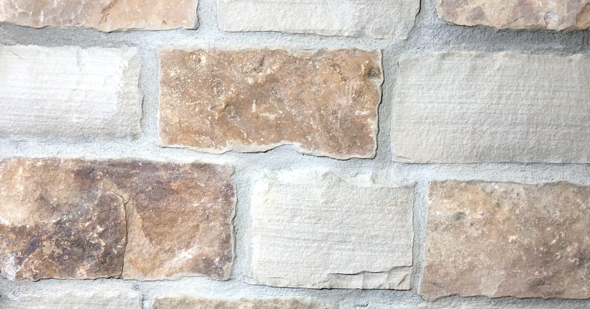 Sunset Rustic Village Exterior Stone Pattern by Lamb Stone